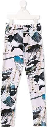Molo bird print leggings