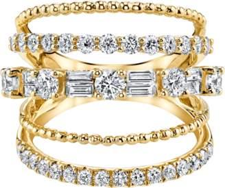 Shay Jewelry Closed Mixed Diamond Ring
