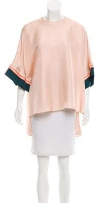 Roksanda Silk Short Sleeve Tunic