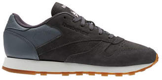 Reebok Lace-Up Leather Sneakers