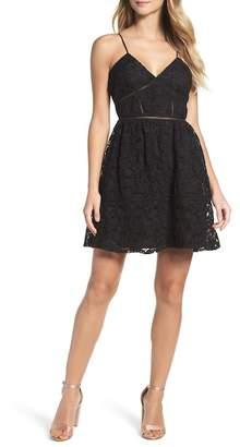 BB Dakota Sutton Lace Fit & Flare Dress