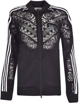 adidas by Stella McCartney Laced Detail Bomber Jacket