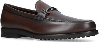 Tod's Leather Mocassino Loafers