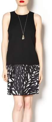 4.collective Sleeveless Black Dress