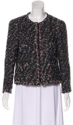 Chanel Collarless Tweed Jacket