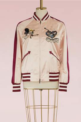 Valentino Tattoo Teddy Jacket
