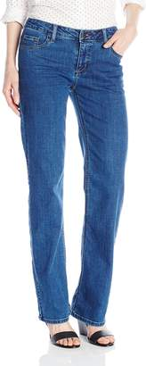 Wrangler Authentics Women's Mid Rise Straight Leg Jean