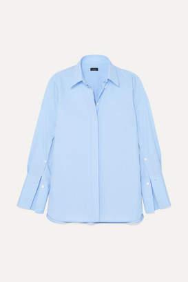 Joseph Mason Cotton-chambray Shirt - Blue