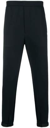 Prada touch strap cuff track pants