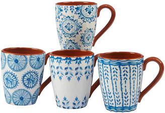 Certified International Porto 4-Pc. Mug