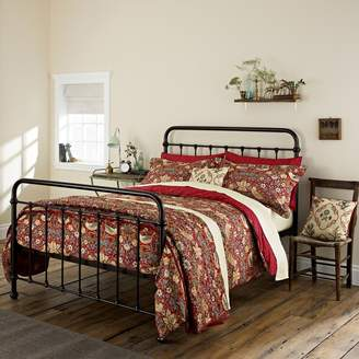 Co Morris & Red 300 Thread Count Floral 'Strawberry Thief' Duvet Cover