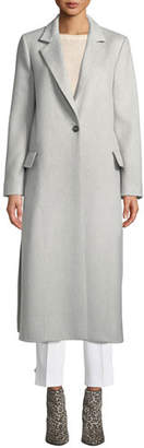 Max Mara Paris Long Camel-Wool Coat