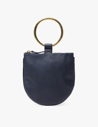 Ring Pouch Small in Navy