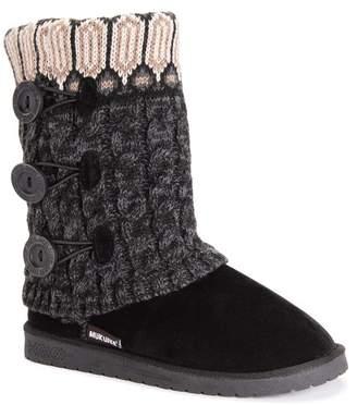 Muk Luks Cheryl Faux Fur Knit Boot