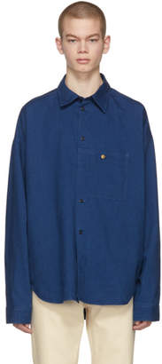 Acne Studios Bla Konst Blue Gianni Shirt