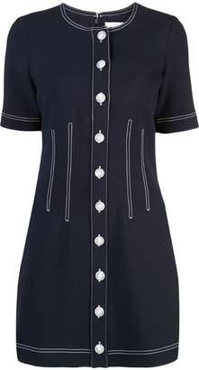 Veronica Beard short buttoned dress