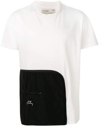 A-Cold-Wall* contrast panel T-shirt