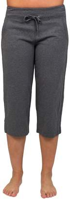 Danskin Women's Drawstring High-Waist Capris