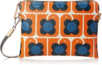 Orla Kiely Love Birds Print Travel Pouch Bag