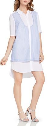 BCBGeneration Layered-Look Shirt Dress $108 thestylecure.com