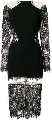 Philipp Plein Laced Lack dress