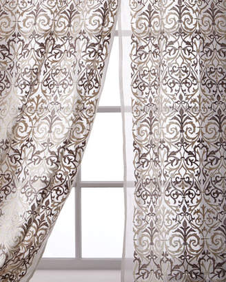 Creative Threads Abound Cotton Organdy Curtain, 96""