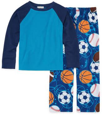 LICENSED PROPERTIES Sports 2 Piece Pajama Set - Boys 4-20
