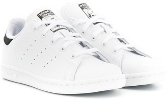 adidas Kids Stan Smith lace-up sneakers