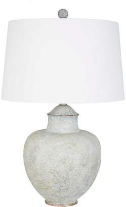 One Kings Lane Berta Table Lamp - Antiqued Copper