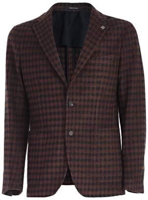 Tagliatore Checkered Blazer