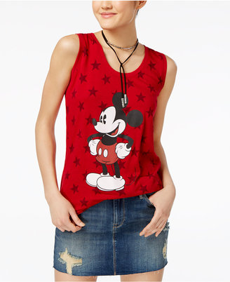 Disney Juniors' Mickey Mouse Star Graphic Tunic Tank $24 thestylecure.com