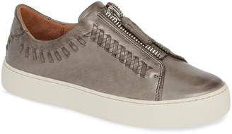 Frye Lena Whipstitch Zip Sneaker