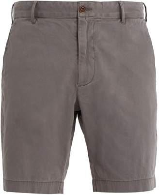 Slim-fit Floral-print Linen-blend Shorts Faherty fAU5NS