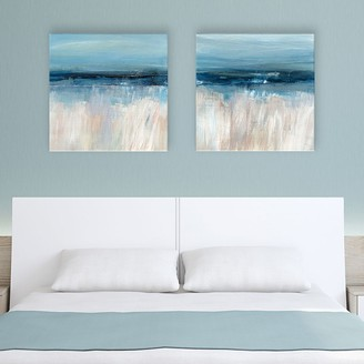 Artissimo Designs On the Severn Canvas Wall Art 2-piece Set