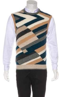 Salvatore Ferragamo Knit Sweater Vest
