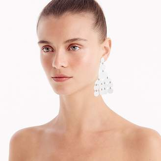 J.Crew Circle statement earrings