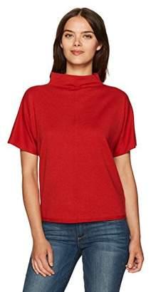 Pendleton Women's Cotton Cashmere Soft Mockneck Pullover Sweater