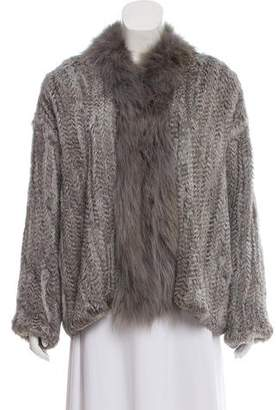 Elizabeth and James Rabbit & Coyote Fur Coat