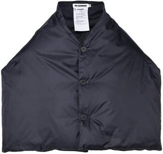Jil Sander padded cape jacket