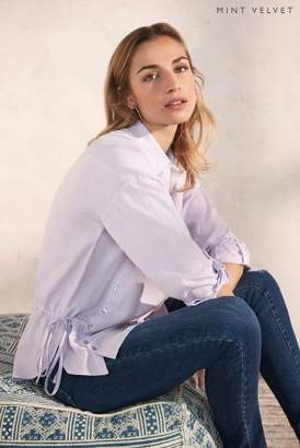 Next Womens Mint Velvet Button Front Shirt