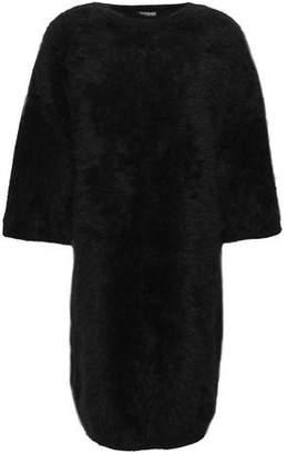 Balmain Angora-blend Mini Dress