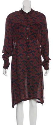 Dries Van Noten Printed Silk Dress w/ Tags