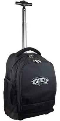 Denco Mojo Licensing Premium Wheeled Backpack - San Antonio Spurs