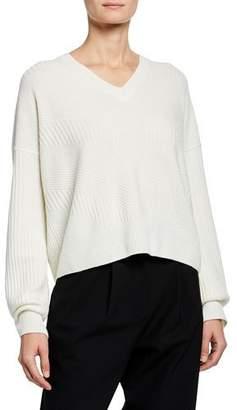 Loro Piana Baby Cashmere Chevron Sweater