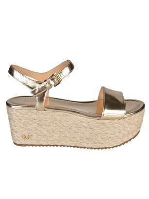 9953929db04 MICHAEL Michael Kors Nantucket Wedge Sandals