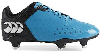 Canterbury of New Zealand Unisex Kids Control Club 6 Stud Rugby Boots,13 Child UK 32 EU