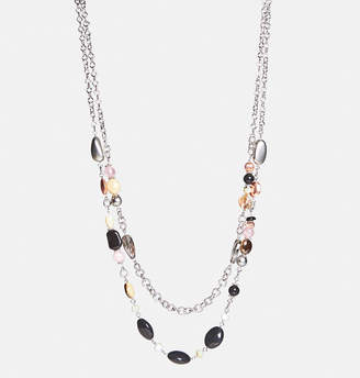Avenue Layered Mix Bead Necklace