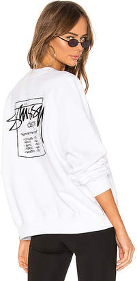 Stussy Nelson Crew Neck Sweatshirt