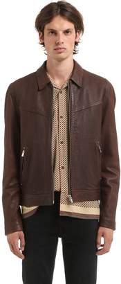 The Kooples Nappa Vintage Leather Jacket