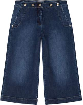 Versace Wide Leg Jeans